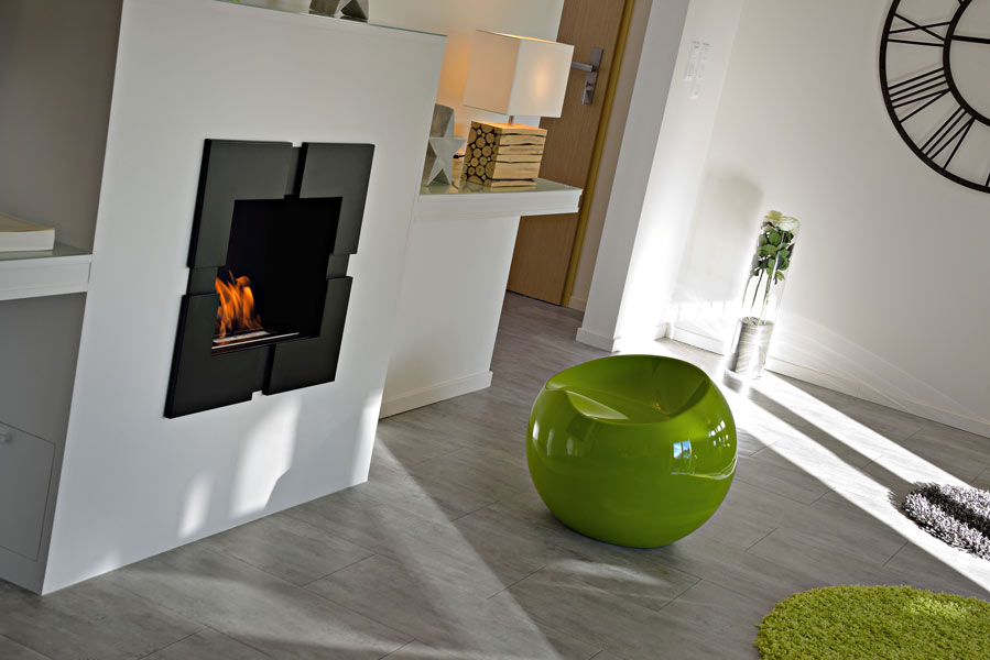 Suite Premium : la décoration et la cheminée