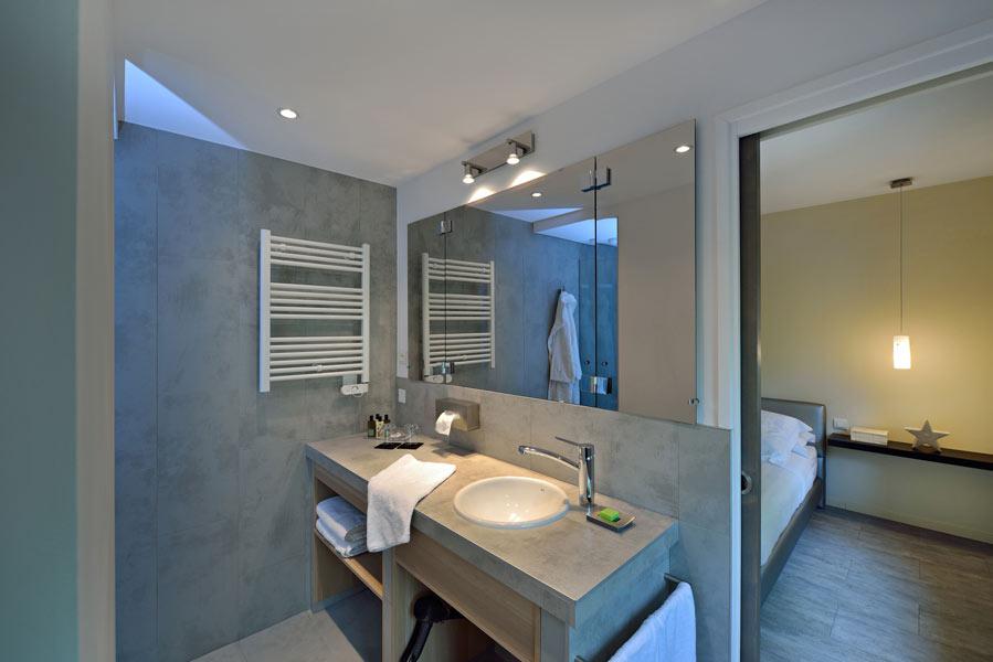 Suite Premium : la salle de bain