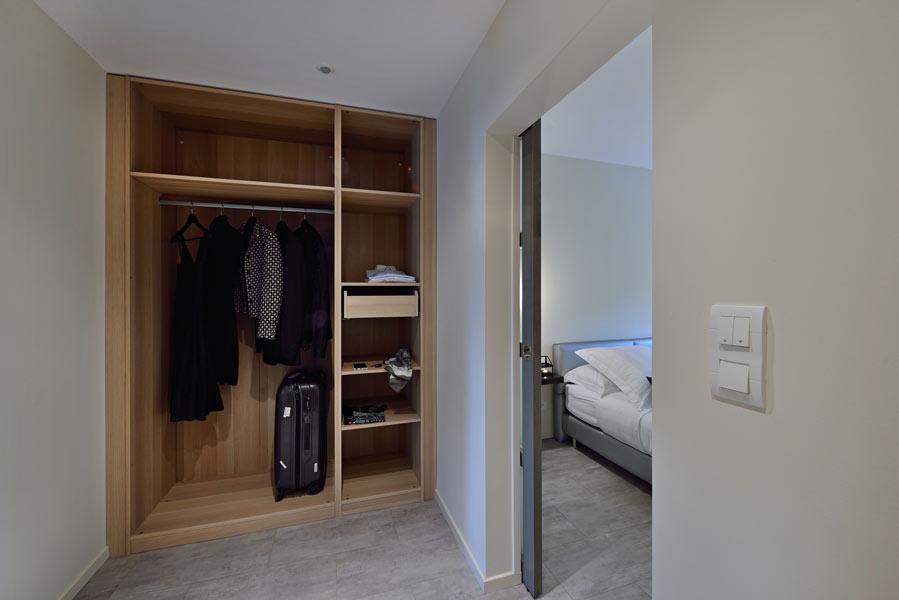 Suite Premium : le dressing