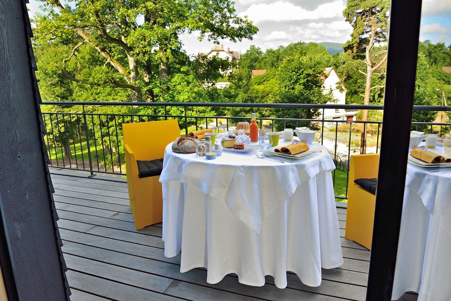 petit déjeuner Cottage 1956